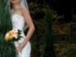 Oryginalna suknia ślubna w idealnym stanie, dopasowana, 'syrena'