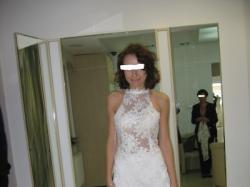 Oryginalna suknia ślubna w stylu retro