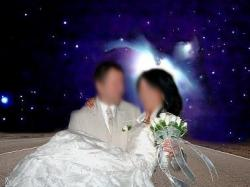 Oryginalna suknia ślubna wg własnego projektu