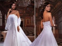 Oryginalna włoska suknia ślubna Eddy K model 711
