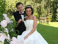 Oryginalna włoska śuknia ślubna w stylu lat 60-tych