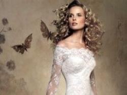 Oryginalna, zjawiskowa, hiszpańska suknia  z przepięknej, wyszywanej koronki