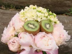 Owocowe bukiety na ślub i wesele