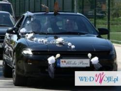 ozdoba na auto ślubna