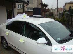 Ozdoba samochodu ślubnego SIMON - wypożyczam