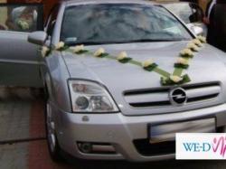 Ozdoba ślubna na samochód+tablica
