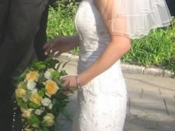 Panna Młoda jak muza - prześliczna suknia ślubna