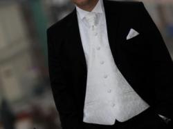 PARYŻANKA  garnitur/koszula/kamizelka/krawat