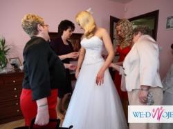 Pękna suknia ślubna!