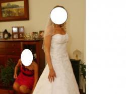 Pi ękna sunknia ślubna