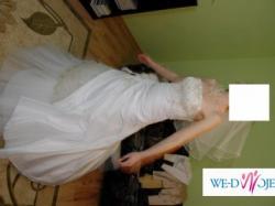 Piękana suknia ślubna