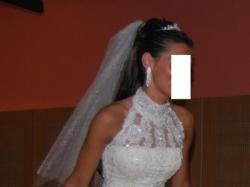 Piękna, bardzo kobieca suknia ślubna PRONOVIAS Laris