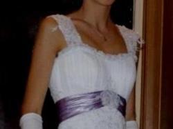Piękna, biała, jednoczęściowa Sposabella!