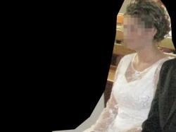 Piękna biała koronkowa suknia ślubna r.42, 170cm+5cm obcas