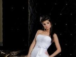 piękna biała Shirvan dla księżniczki