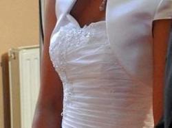 Piękna biała sukienka - sprzedam