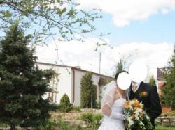 Piękna biała suknia Gallantus