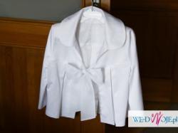piękna biała suknia MANUEL MOTA VALDEMAR rozmiar 36+dodatki