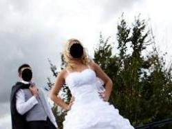 Piękna biała suknia: Margaret - Jola Moda biała rozm. 38 - 42 + gratisy