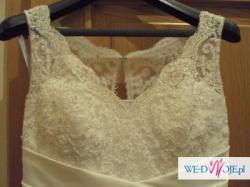 piękna biała suknia Sincerity Bridal 3333