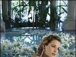 Piękna biała suknia ślubna DEMETRIOS 943