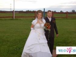 ***Piękna biała suknia ślubna firmy Marietta***