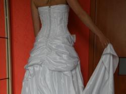 Piękna biała suknia ślubna roz.36