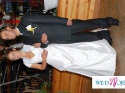 Piękna biała suknia ślubna- sprzedam