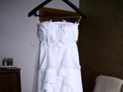 piękna biała suknia VALDEMAR rozmiar 36+dodatki