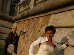 Piękna, elegancka suknia ślubna!