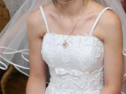 Piekna haftowana suknia ślubna rozmiar 36/38 biała