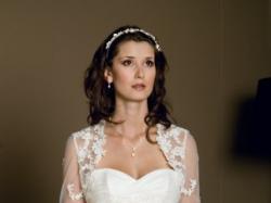 Piękna hiszpańska suknia ślubna ELIANE + bolerko