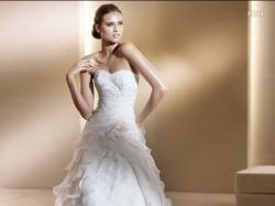 Piękna Hiszpańska Suknia ślubna Pronovias