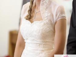 Piękna hiszpańska suknia ślubna Sarah Bride