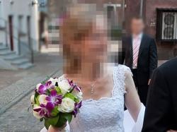 Piękna i bardzo kobieca suknia ślubna