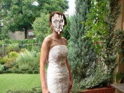 Piękna i elegancka suknia ślubna model melodia firma la sposa