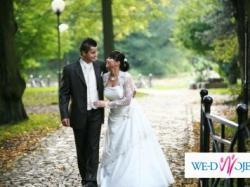PIĘKNA I ELEGANCKA suknia ślubna Z GRATISAMI!!!