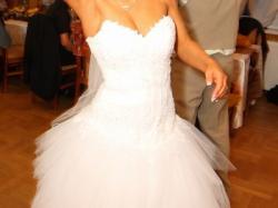 Piekna i niepowtarzalna suknia ślubna!!!