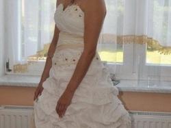 Piękna i oryginalna suknia