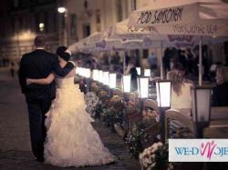 Piękna i oryginalna suknia ślubna!!!