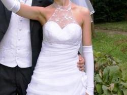 Piękna i oryginalna suknia ślubna