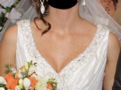 Piękna i tania suknia ślubna+ dodatki!!!