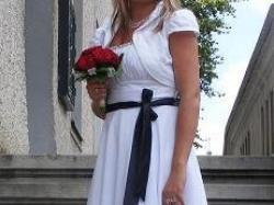 Piękna i Uwodzicielska Sukienka ,,Ślub''