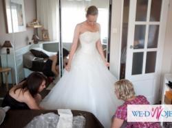 Piękna i wyjątkowa suknia ślubna