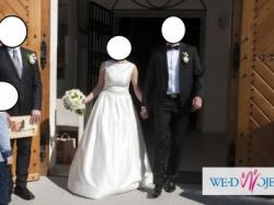 Piękna, klasyczna sukienka ślubna