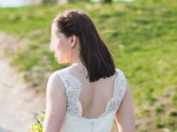 Piękna koronkowa suknia Julia Rosa model 531, r.36-38