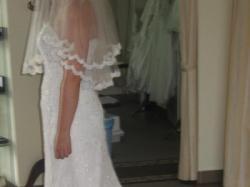 Piękna, koronkowa suknia ślubna