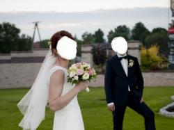 Piękna, Koronkowa suknia ślubna 38