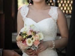 Piękna koronkowa suknia ślubna Duber