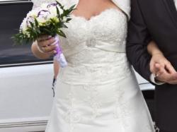 Piękna koronkowa suknia ślubna Kolekcja Annais 2012+ GRATIS